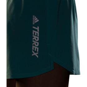 adidas TERREX Parley Agravic All Around Shorts Women, turquoise/zwart